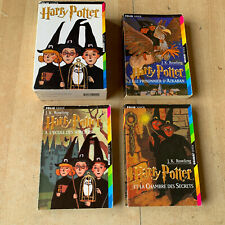 coffret 3 livres HARRY POTTER tomes 1 2 3 - éditions poches Folio Junior