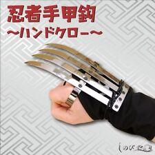 NINJA SHINOBI KUNOICHI TEKKOUKAGI Iron Hand claw Anime NARUTO Turtles #Tracking