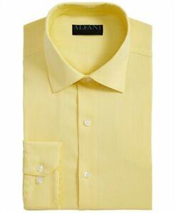 AlfaTech by Alfani Men's Bedford Cord Classic-Fit Dress Shirt, 16 $60