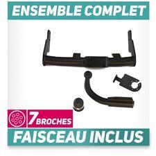 Attelage rigide Peugeot 106 3/5P Hayon 96-04 +faisceau 7 broches