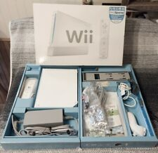 Nintendo Wii White Game Console with Wii Sports Game Bundle In Box Tested!!!
