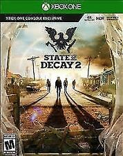 New State of Decay 2 Xbox One Game Code