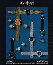 PUBLICITE ADVERTISING 124  1977  PATEK PHILIPPE  montres