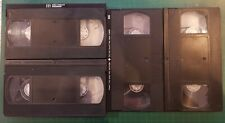7 Blank Used E240 Assorted VHS Video Tapes