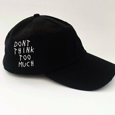 Dont Think Too Much Hat Anti Social Club TUMBLR HIPSTER EMOJI Drake Shopjeen