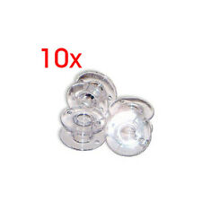10 Sewing Clear Plastic Sewinc Machine Empty Bobbin for Brother singer Jano K4Q0