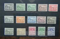 Turks and Caicos Islands 1938 - 45 set to 10s (1/4d 1/2d x 1 1d Unused)