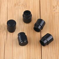5pcs Black Pickup selector Switch Tip Knob Caps for Fender Tele Telecaster