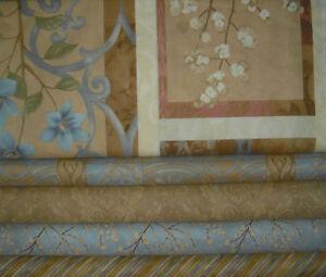 Serenade QUILT  Fabric Set = Panel & 4 diff 1/2 yds