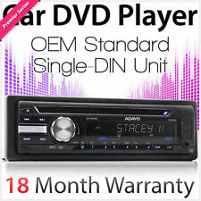 Single 1 DIN Car DVD Player Head Unit Player Stereo Radio USB MP3 SD OEM Media