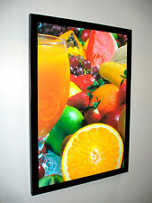 A2 SLIM LED LIGHT BOX POSTER DISPLAY -Advertising / Menu Board / Decore graphics