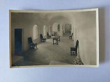 Caumont-sur-Durance France B&W Postcard 1968 Chartreuse de Bonpas Salon