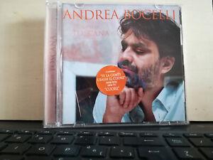 ANDREA BOCELLI - CIELI DI TOSCANA - CD 2001 SUGAR Bonus track poem by BONO
