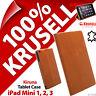 Krusell Kiruna Piel Genuina Funda Tablet Soporte para Apple Ipad Mini 1 2 3