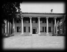 Classic Antebellum Plantation Mansion, house floor plans, columns, details