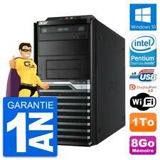 PC Tour Acer Veriton M4630G Intel G3220 RAM 8Go Disque Dur 1To Windows 10 Wifi
