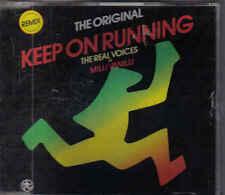 The Original Milly Vanilli-Keep On Running Remix cd maxi single