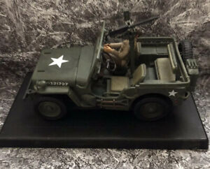 2000 21st Century Toys Ultimate Soldier WWII US Army Willys MB Jeep