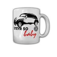 Tasse Steyr 50 Baby Oldtimer Auto Österreich Kleinwagen KFZ Wagen #30451