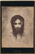 Religion Sainte Face photographie d'un dessin imaginaire, tirage argentique