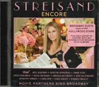Barbara Streisand - Encore (2016 CD) Movie Partners Sing Broadway (New & Sealed)