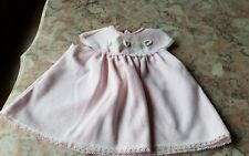 3-6 months Vintage Pink floral baby girls dress clothes