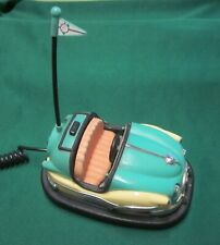 BUMPER CAR TELEPHONE Retro 1950's Style Carnival Tested and Working. EUC