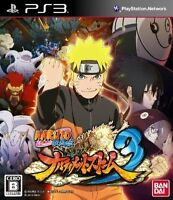 Naruto Shippuden Ultimate Ninja Storm 3 And Ultimate Ninja Revolution Ps3 Games