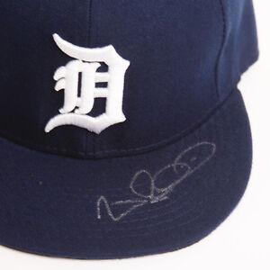 Wilson Betemit DET Detroit Tigers Auto Signed Autographed Hat COA GFA