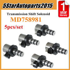 5pc Transmission Shift Solenoid Kit for Hyundai Kia Mitsubishi F4A41 F4A42 F4A51