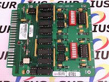NSOP LABEL AIRE 0040091 ECLC ASSEMBLY I/O 8 IN/OUT TYPE 2 RELAY CARD BOARD PCB