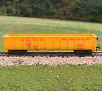 Tyco HO Scale Union Pacific 40' Gondola, MOW Service, Yellow