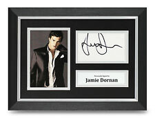 Jamie Dornan Signed A4 Photo Framed Fifty Shades Memorabilia Autograph Display