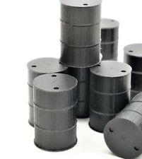 USA Plastic N Scale Steel 55 Gallon Drum - Black 5-pack 1600838