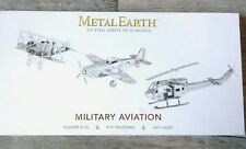 Metal Earth Steel Sheet 3D Aircraft Model Kit