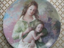 D'Arceau Limoges plate Mothers & Daughters Michele & Sylvie