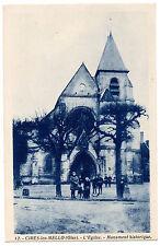 CPA 60 - CIRES LES MELLO (Oise) - 12. L'Eglise. Monument historique