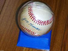 Joe Hauser Autographed Auto OAL Baseball Milwaukee Brewers Unser Choe Orioles