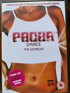Pacha Dance The Workout DVD + CD Club Fitness Exercise Routine