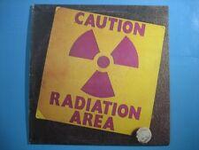 "AREA ""Caution Radiation"" LP ORIGINALE-SOLO COPERTINA SENZA DISCO - STRATOS"