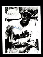 Leon Day PSA DNA Coa Hand Signed 8x10 Photo Autograph