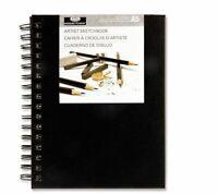 Royal & Langnickel A5 80 Sheet Hardback Wirobound Artist Sketchbook Drawing Pad
