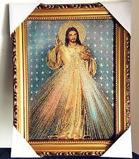"Catholic jesus Christ Heart Religious Wall Textile Cloth Statue Figure 11"""