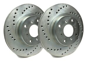 SP Performance Rear Rotors for 2007 CX-9  | Drilled w/ Zinc C26-480-P