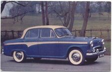 Austin A105 Original Factory colour Postcard  No. 1496 with 20 Features
