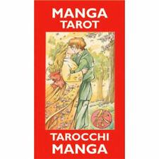 Manga Tarot 78 Cards Pocket Sized Deck Multilingual Instructions