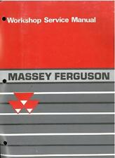 MASSEY FERGUSON 1000 SERIES TRACTOR - 1010 1020 1030 1040 1045 WORKSHOP MANUAL