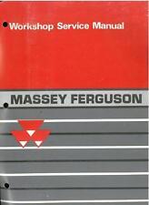 MASSEY FERGUSON 1000 SERIES TRACTOR - 1010 1020 1030 1040 1045 WORKSHOP MANUAL