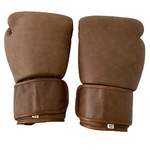 Brand New Boxing Gloves Authetic Real Leather For Sparring Bag Work MEN Women