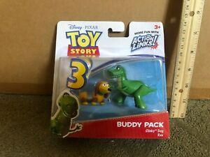 TOY STORY 3 disney pixar buddy pack slinky dog and rex
